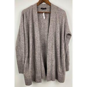 Ann Taylor Small Women's Gray Sweater Cardigan